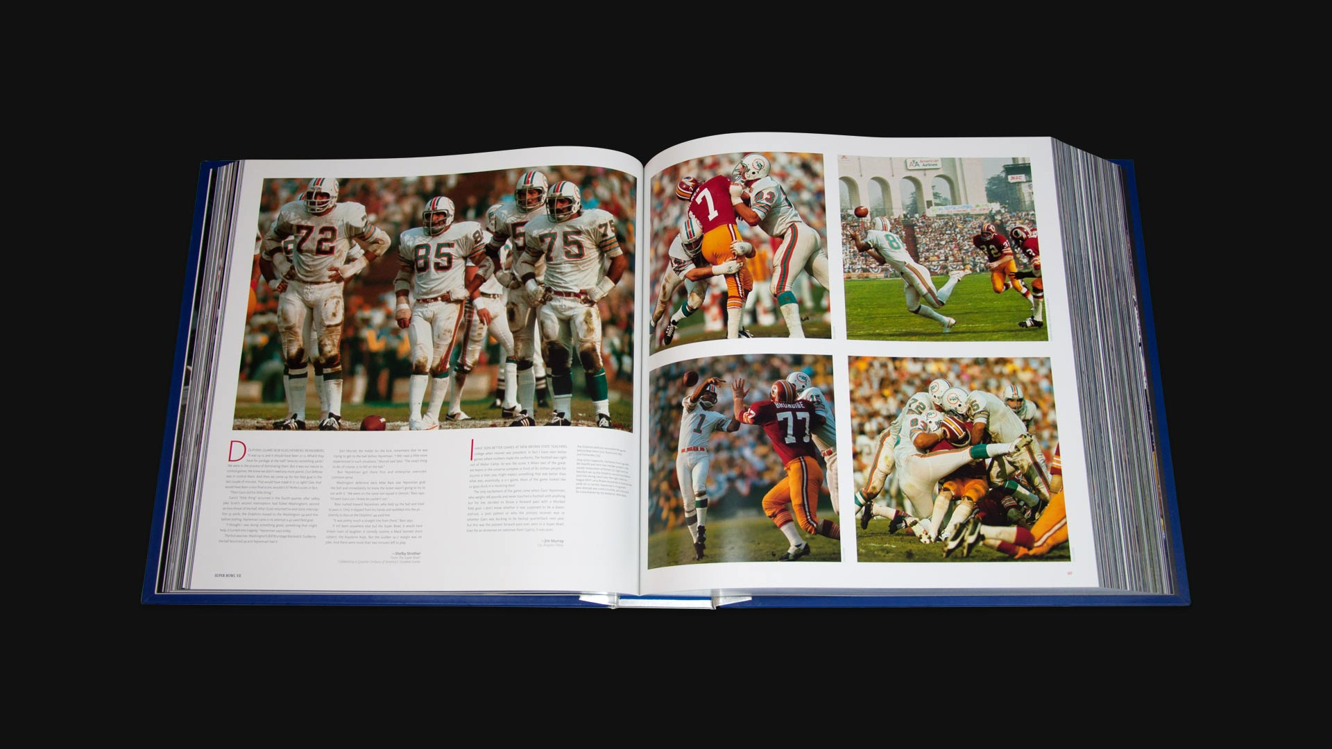 Pages from the Super Bowl Opus